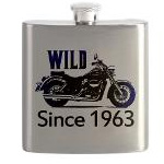 50th Birthday Gifts, Metal Flask!